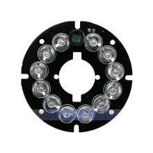 ALBFY-812-C12-45D CCTV Accessories 850nm infrared light 12 Grain IR LED board for Surveillance night vision cameras 70-80mA