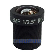 "6mm 53 Degree Angle 1/2.5"" Mount M12 x 0.5 Aperture F1.8 CCTV 3MP Fixed Lens For CCTV Camera"
