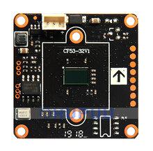"1/2.9"" GC2053 FH8536H AHD TVI CVI Analog 4 in 1 1080P 2MP Starlight Security CCTV Camera Module Board 32mm"