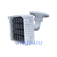 CCTV 24pcs White Light LED 48W illuminator Night Vision Spotlight For HD Security Surveillance Camera 70Meter