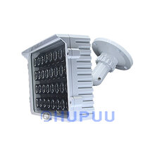 CCTV 32pcs White Light LED 64W illuminator Night Vision Spotlight For HD Security Surveillance Camera 100Meter