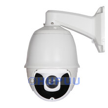 "HDC612X18 7"" Middle Speed PTZ Dome Camera 4 in 1 AHD TVI CVI CVBS 2MP IMX323 200m IR 18X/33X optical zoom"