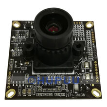 "HS771TS327-S4-LS-CBADK 1/2.8"" Sony starvis IMX327 + EN771T 2MP 1080P AHD EX-SDI HD-SDI SDI Analog F1.0 4mm Lens Starlight Security CCTV HD camera module board"