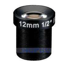 "LF12-M12-MP-F1.6-S12 1/2"" 12mm focal length M12 Lens for CCTV Camera"