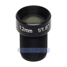 "LF12-M12N18-8MP 1/1.8"" 12mm Focal length 8MP F2.0 M12 CCTV None Distortion lens"