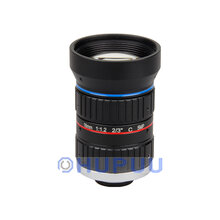 "LF16-C-5MP-F1.2 2/3"" 16mm Focal length 8MP F1.2 C mount lens"