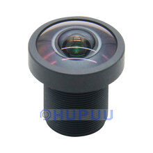 "LF2.72-M12-16MP 1/2.3"" 2.72mm folcal length 16MP M12 lens with 650nm IR-CUT filter DFOV 180 degree"