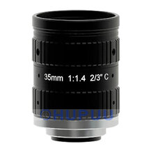 "LF35-C-5MP-F1.4 2/3"" 5MP 35mm focal length F1.4 C mount lens"