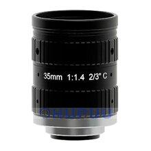 "LF35-C-5MP-F1.4 2/3"" 5MP 35mm focal length F1.4 C mount lens"