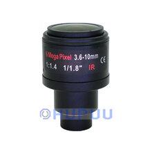 LF3610-D14-6MP-F1.4 Manual zoom 3.6-10mm 6MP F1.4 D14 Mount CCTV Camera Lens