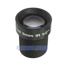 "LF8-M12-5MP-F2 1/2"" 5MP 8mm M12 MTV Mount Camera Lens for IMX385"