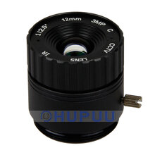 "LF12-CS-3MP-F2-IR-CL 1/2.5"" 3MP 12mm F2.0 CS mount CCTV Camera Lens"