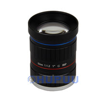 "LF50-C-8MP-F1.2 1"" 50mm 8MP C mount F1.2 starlight camera lens"