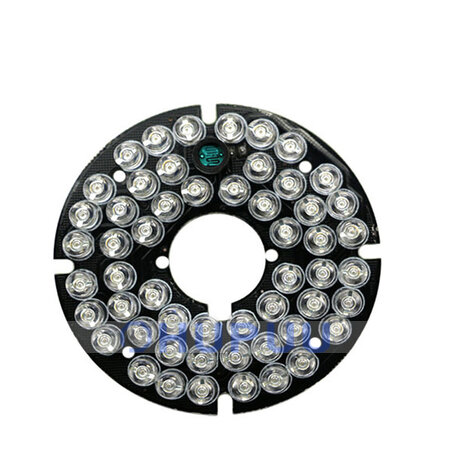 ALB-FY-6054-C10-30D 850nm infrared light 54pcs  IR LED board for Surveillance cameras night vision 360mA 5-30meters outter 60mm inner 18mm