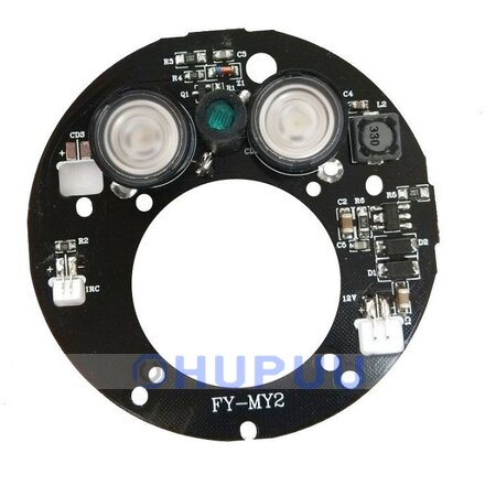 ALB-FY-MY2-30D Infrared light 2pcs 42 mil Epistar IR LED board for Surveillance cameras night vision 440mA