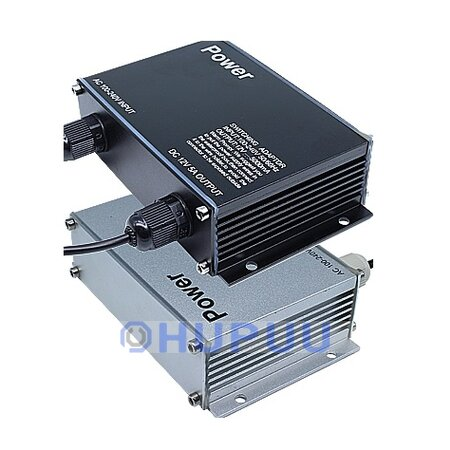 12V/24V 5A/5000mA 60W 1 Channel Outdoor Rainproof Power Adapter Supply for  CCTV Camera
