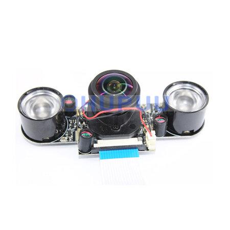 5MP OV5647 CSI Camera Module 175 Degree Lens Auto switch IR-CUT filters Night Vision IR LED for raspi raspberry pi 4B 3B 2B B+