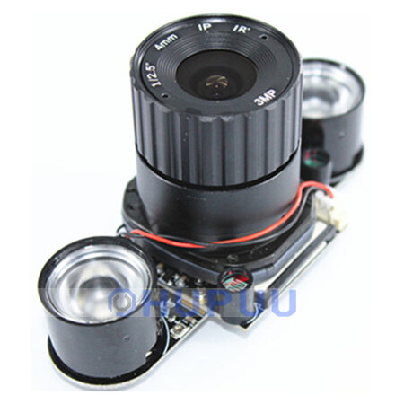 5MP OV5647 CSI Camera Module CS Lens with IR LED auto switch IR-CUT for raspberry pi 4B 3B 2B B+