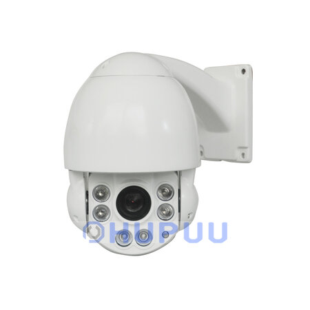 "HDC51MX 4.5"" Mini PTZ Dome 4 in 1 AHD TVI CVI CVBS Camera 2MP IMX323 IP66 60m IR 10X optical zoom"
