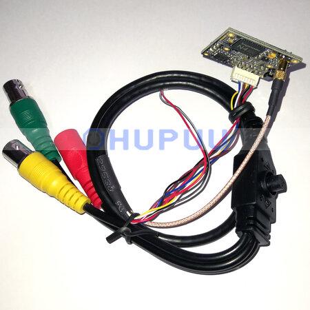 IMX385 EN778 2MP 1080P 50fps 60fps 3G-SDI HD-SDI Analog CMOS starlight medical endoscope camera module 32x32mm digital zoom Push awb Freeze shortkey