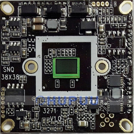 "HSK9A323-ATCC(-CBADK) 1/2.9"" Sony IMX323 + K9ATCC 1080P 2MP AHD TVI CVI Analog CCTV Security HD camera module board"
