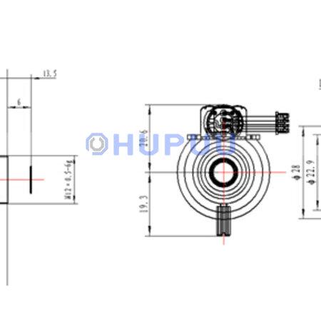 LF2812-M12-3MP-AI 3MP M12 Mount Manual Zoom 2.8-12mm Focal