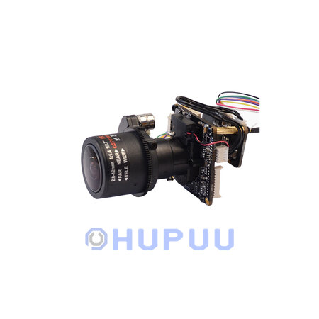 "IPCM-3516XS323-AZ0722 1/2.9"" 2MP Sony IMX323 + HI3516CV300 CMOS Module 7-22mm Auto Zoom Lens IR-CUT filter"